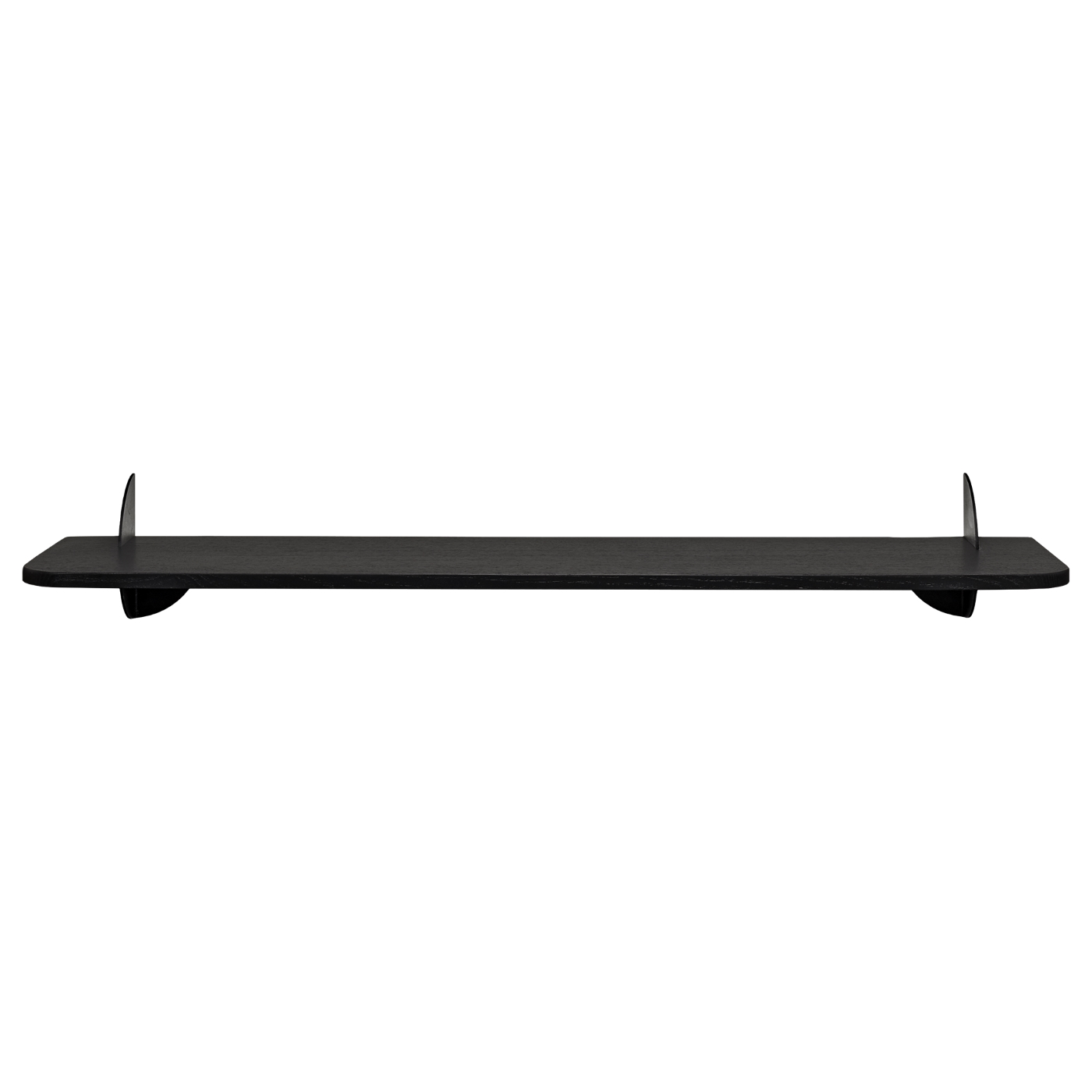 Hylla AEDES svart/ svart 80 cm, AYTM
