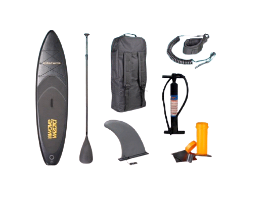 Wave Wizard - SUP Board - Limited Wave - Black (211111)