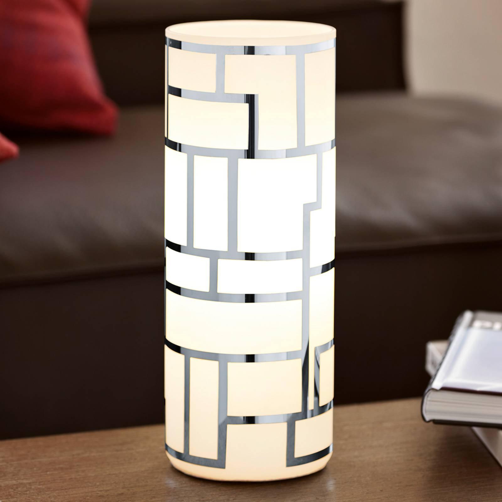Sylinderbordlampe Bayman