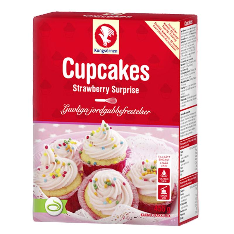 "Bak-kit Cupcakes ""Strawberry Surprise"" 455g - 22% rabatt"