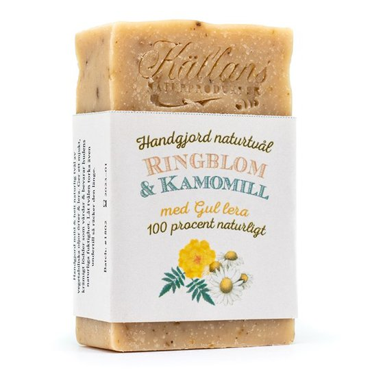 Källans Naturprodukter Naturtvål Ringblom & Kamomill, 95 g