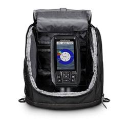 Garmin Striker Plus 4, Portable Ice Fishing Kit W/ Dual Beam