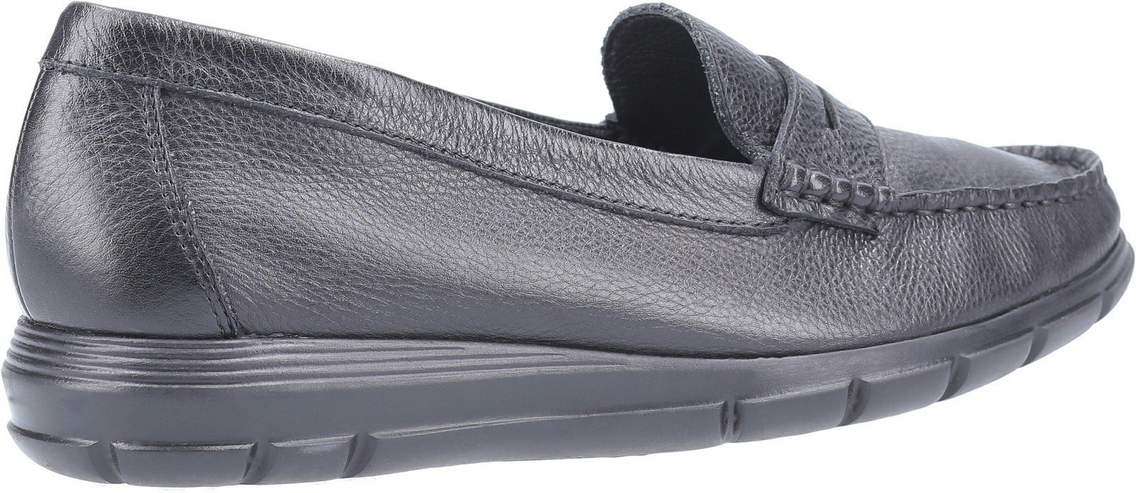 Hush Puppies Women's Paige Slip On Loafer Various Colours 30242 - Black 3