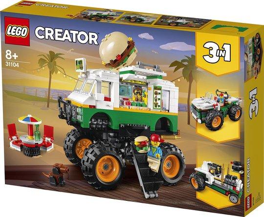 LEGO Creator 31104 Monsterburgertruck
