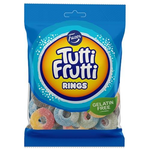 Tutti Frutti Rings 120g x 24 st