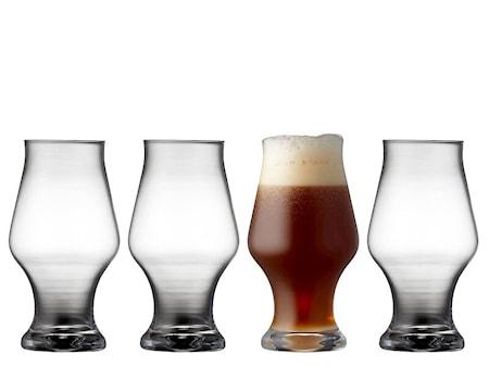 Ölglas Dark beer 57cl 4-pack