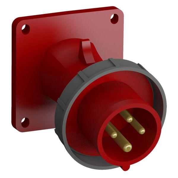 ABB 2CMA102322R1000 Panelinntak hurtigtilkoblet, vibrasjonsbestandig Vinklet, 4-polet, 16 A