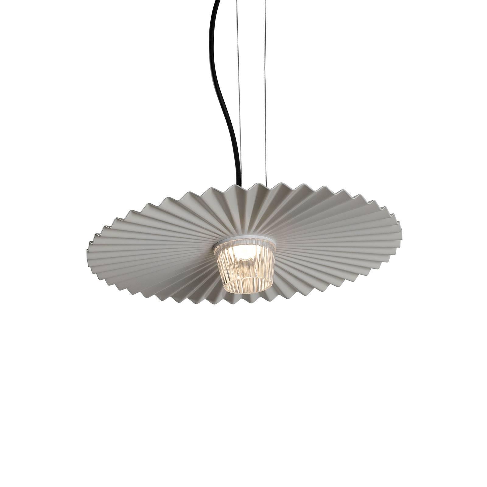 Karman Gonzaga-LED-riippuvalaisin Ø42 cm valkoinen