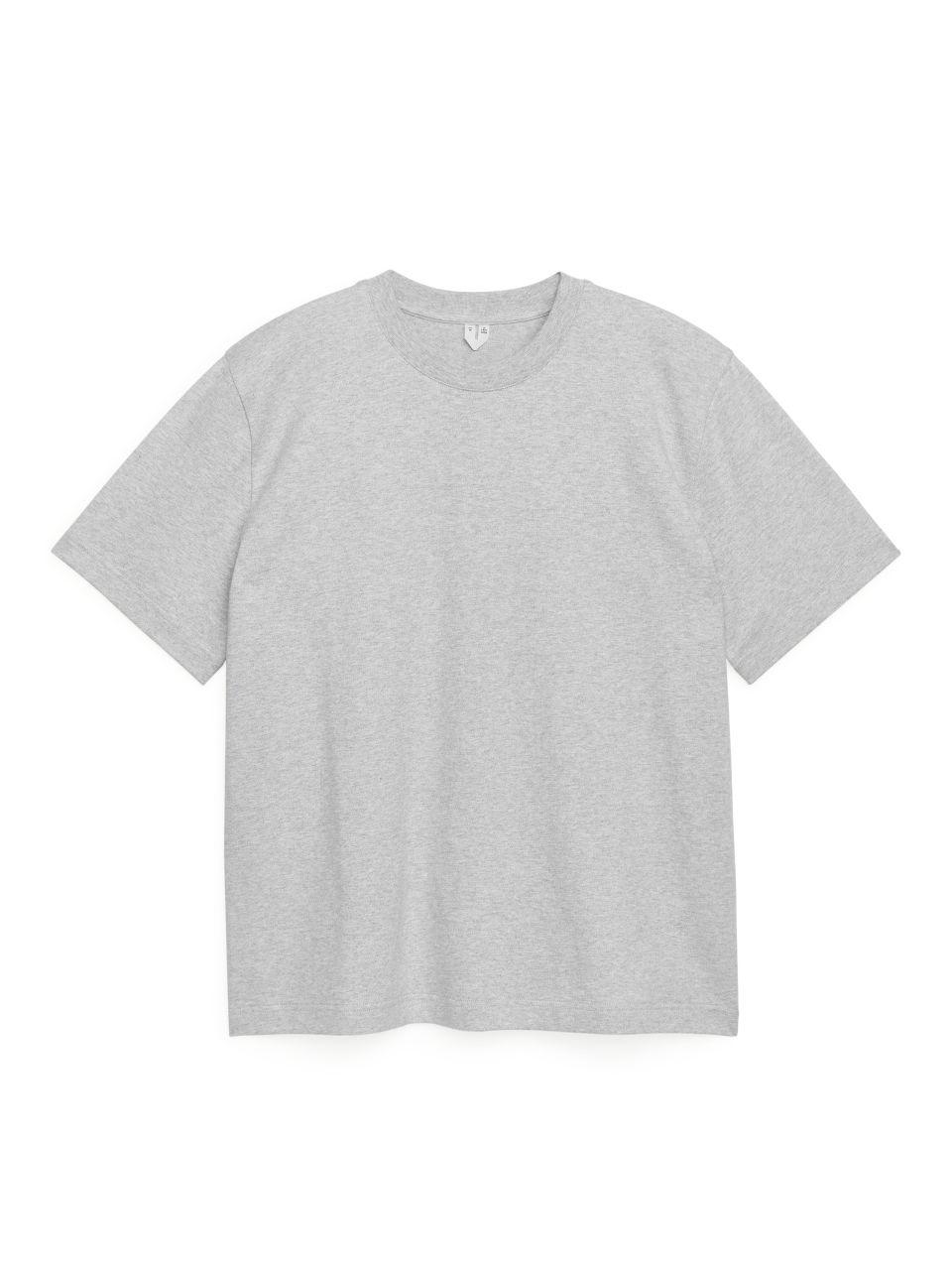 Oversized Heavyweight T-shirt - Grey