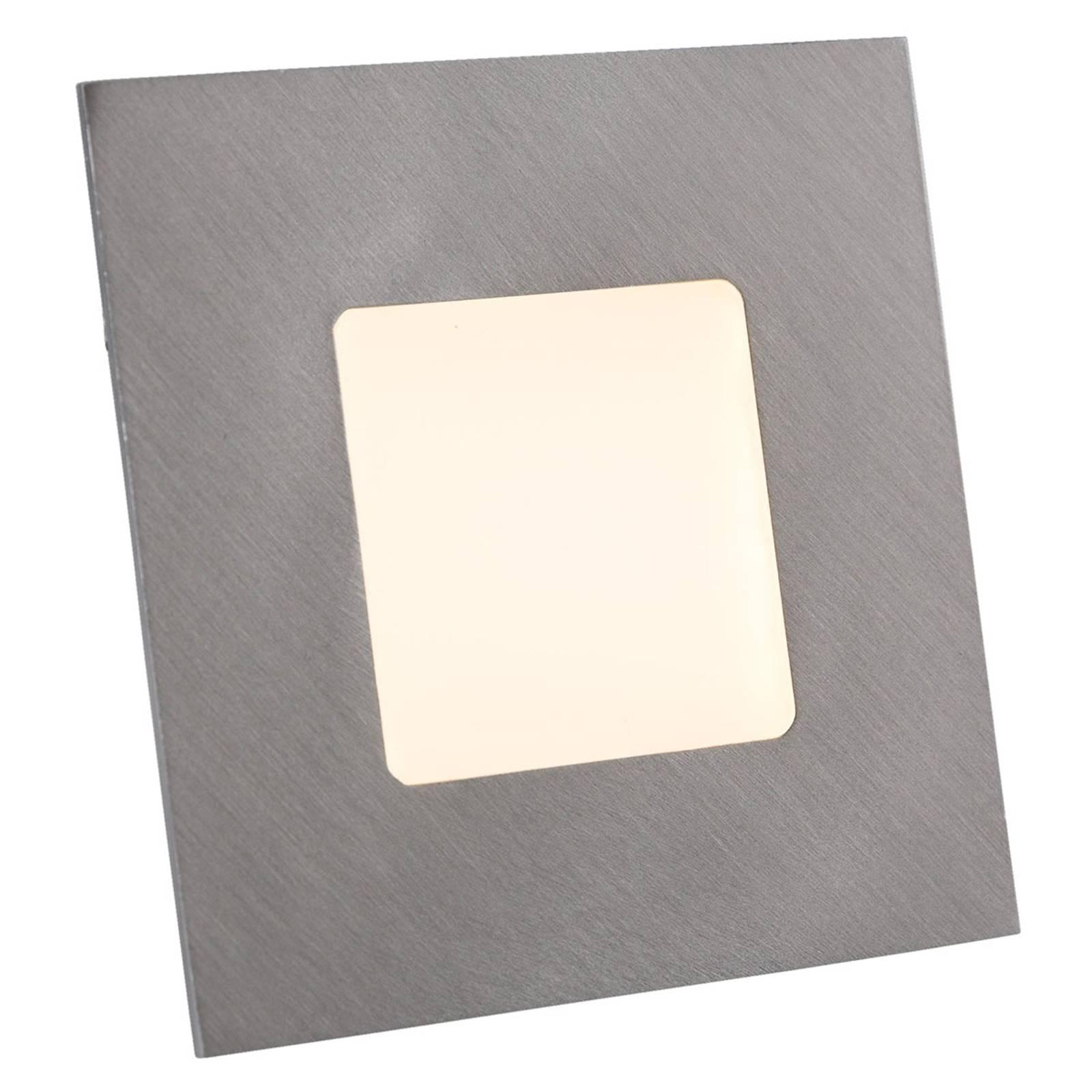 LED-uppovalaisin asennusrasiaan, hopea