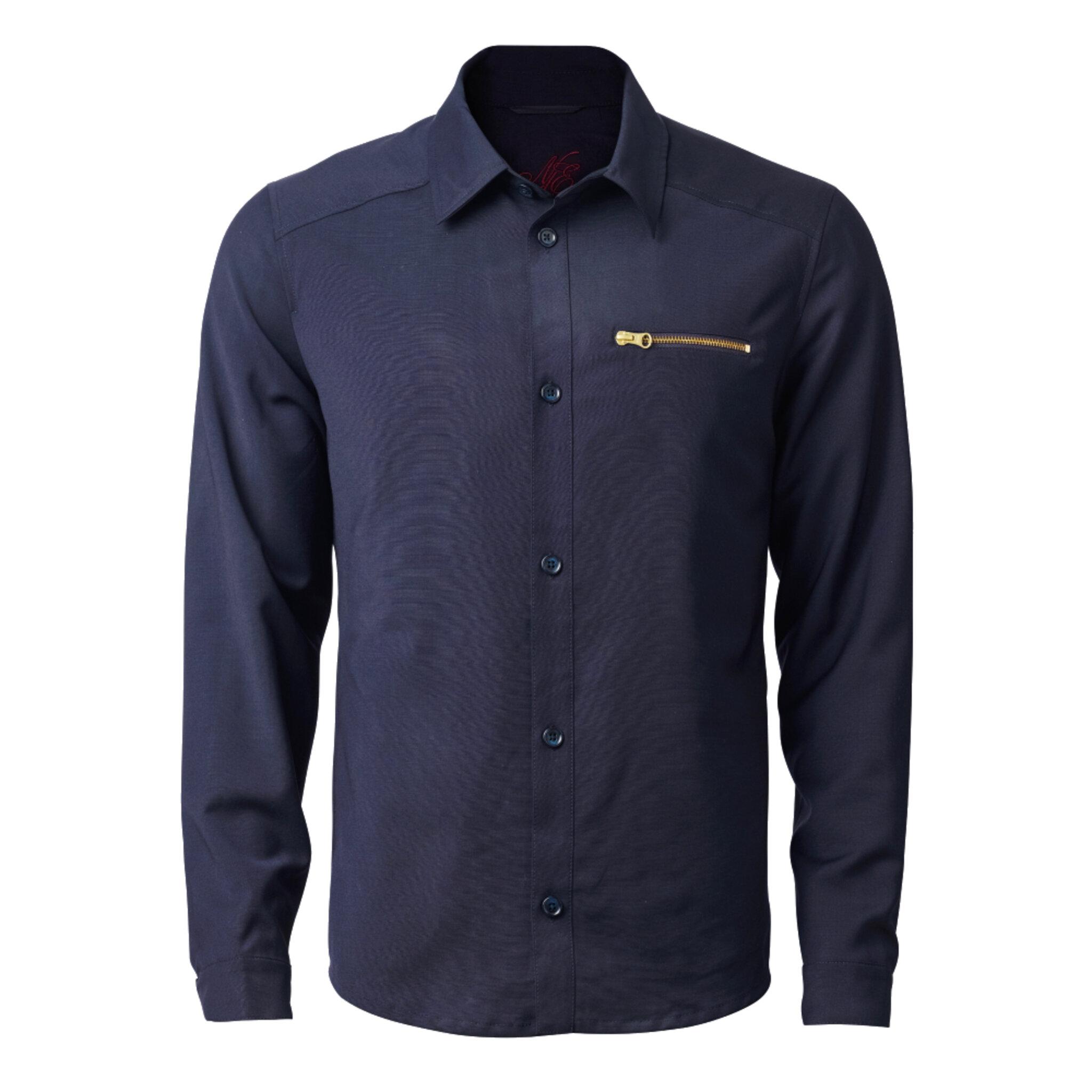 Jon Fine Wool Overshirt