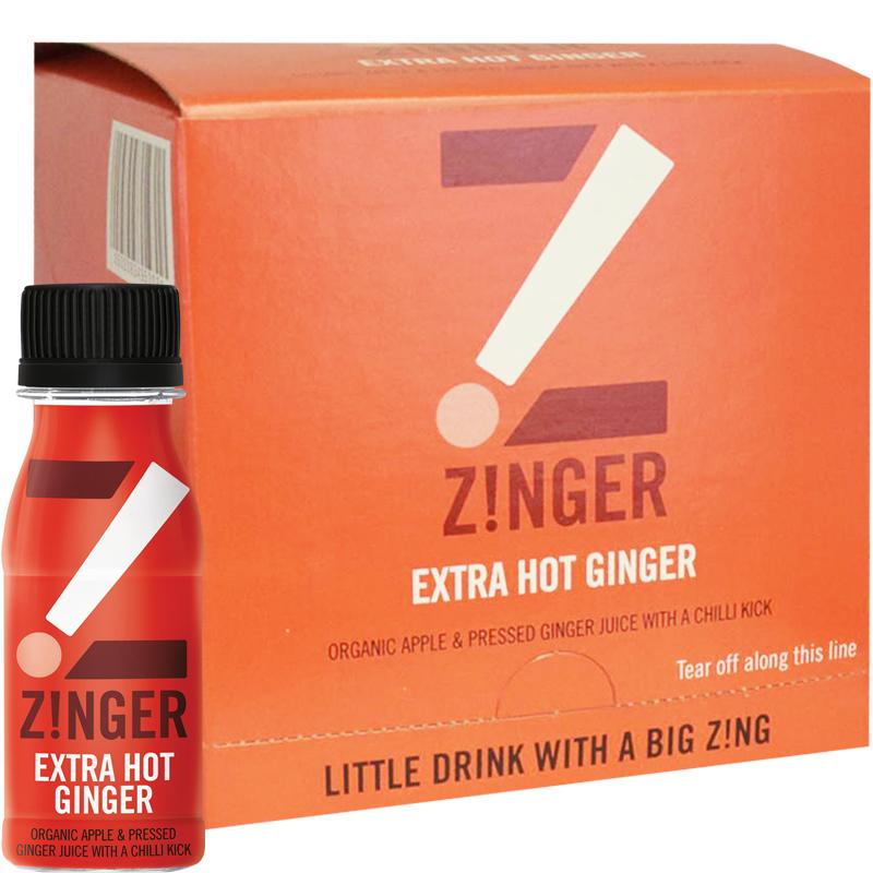 Eko Juiceshot Zinger Intense & Fiery 15-pack - 46% rabatt
