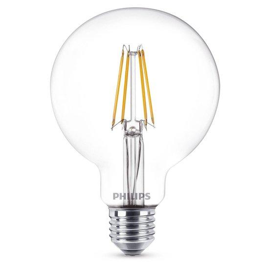 E27 7 W 827 LED-globe-lamppu G95 kirkas