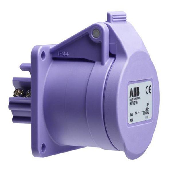 ABB 2CMA100988R1000 Seinäpistorasia 2-napainen, IP44
