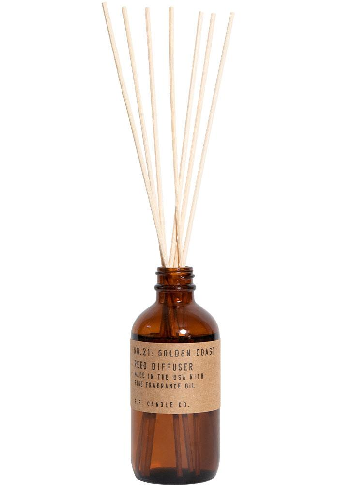 P.F. Candle Co. No. 21 Golden Coast Reed Diffuser