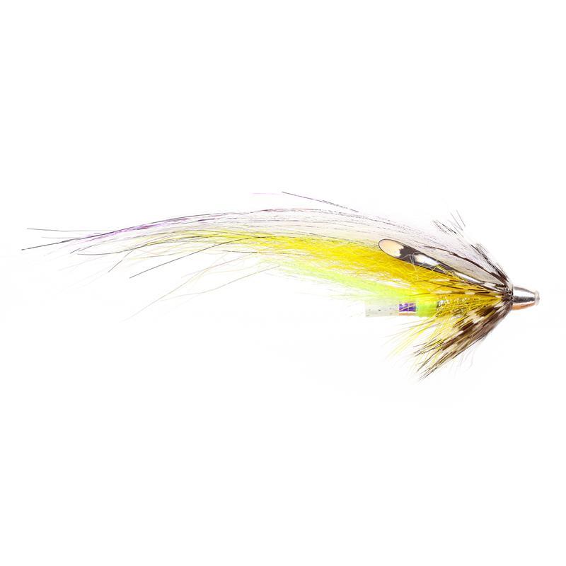 Silver White & Yellow - 9cm Kjøp 12 fluer få gratis flueboks