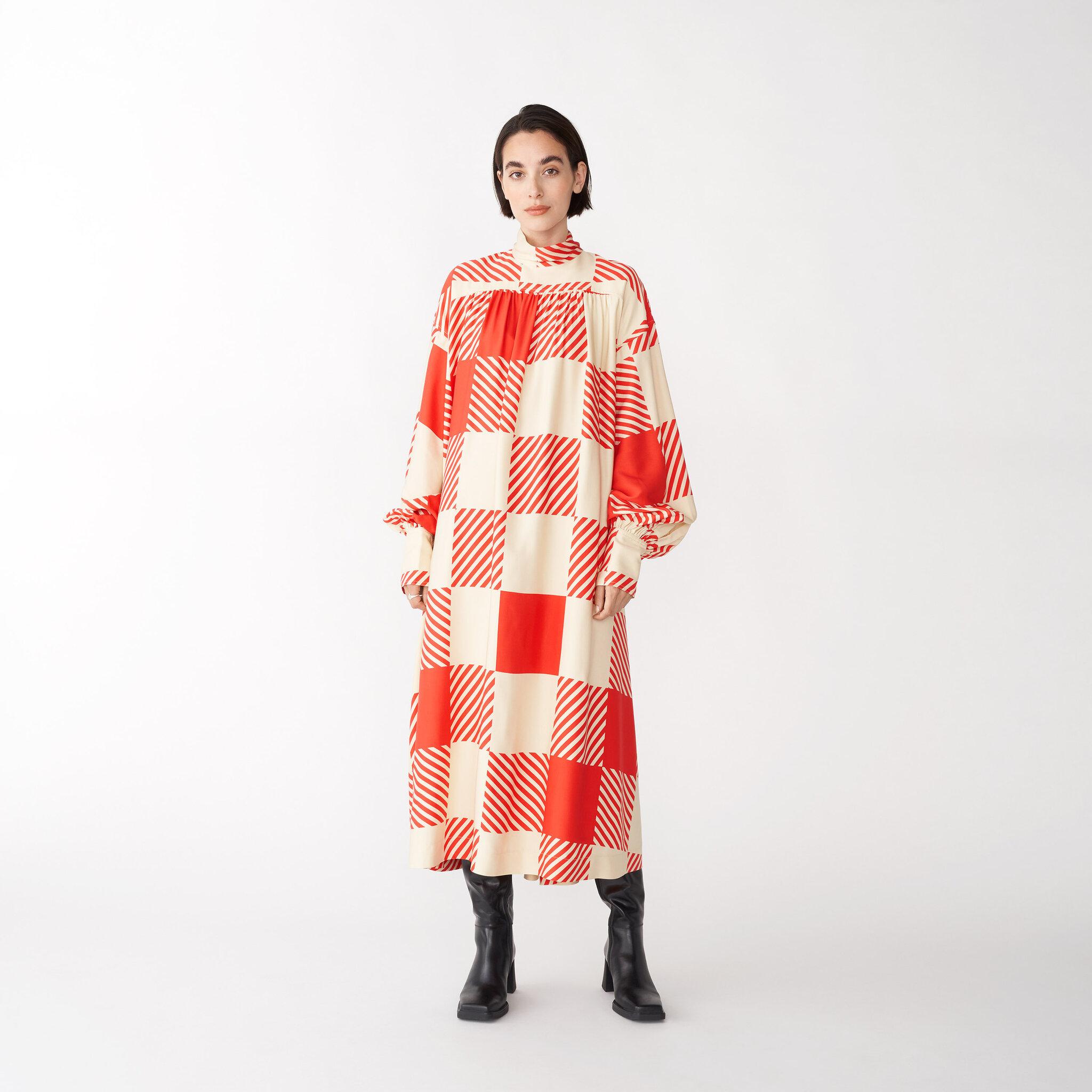 Viskosklänning MADDIE