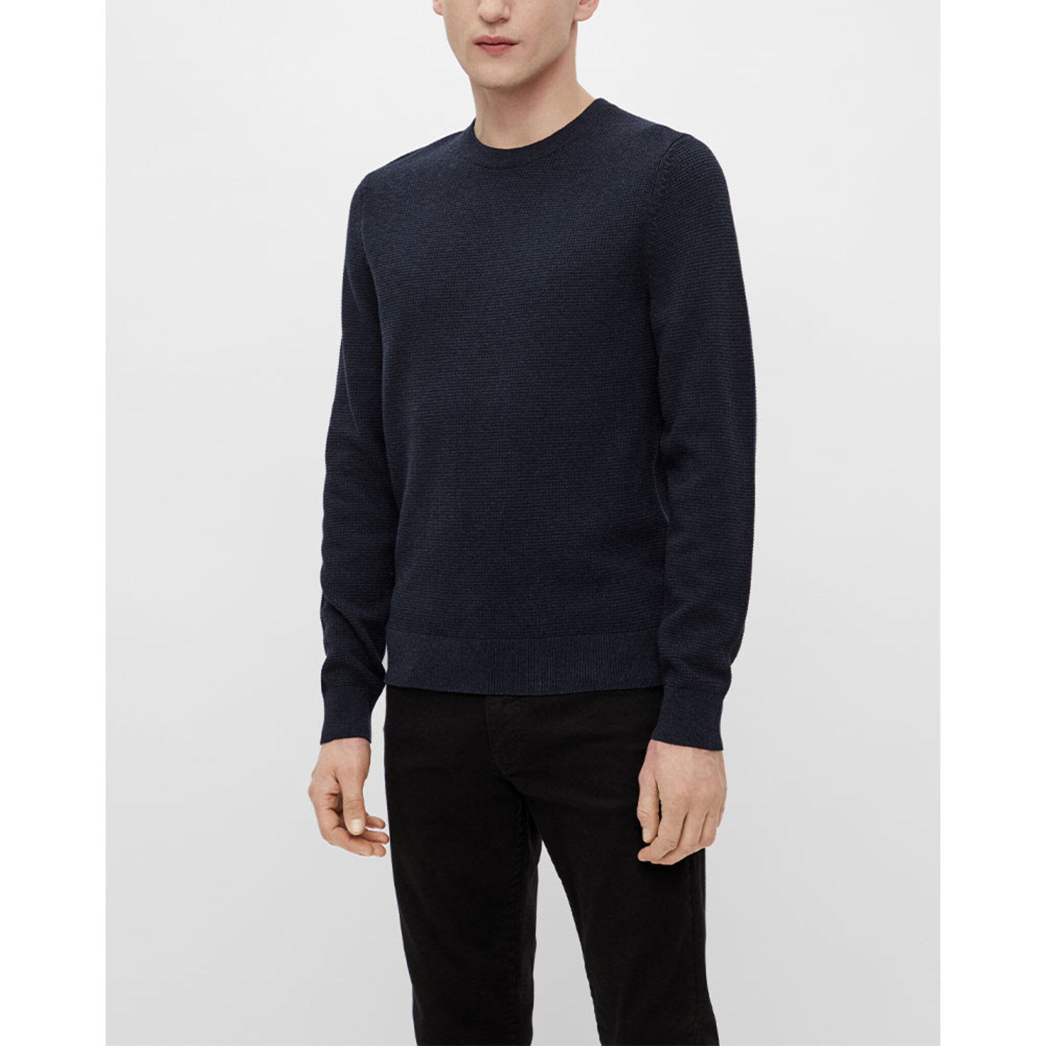 Andy Structure C-Neck Sweater