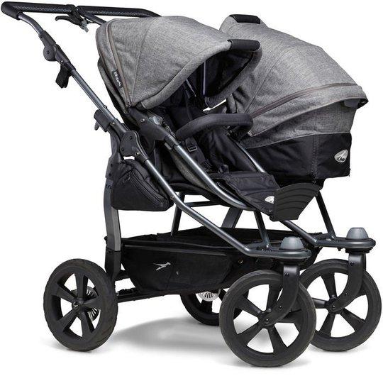 TFK Duo Combi Eco Søskenvogn, Premium Grey