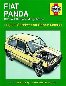 Haynes Reparationshandbok, Fiat Panda, Universal