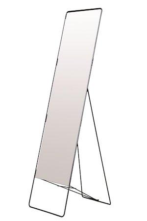 Gulvspeil Chic 45x175 cm - Svart