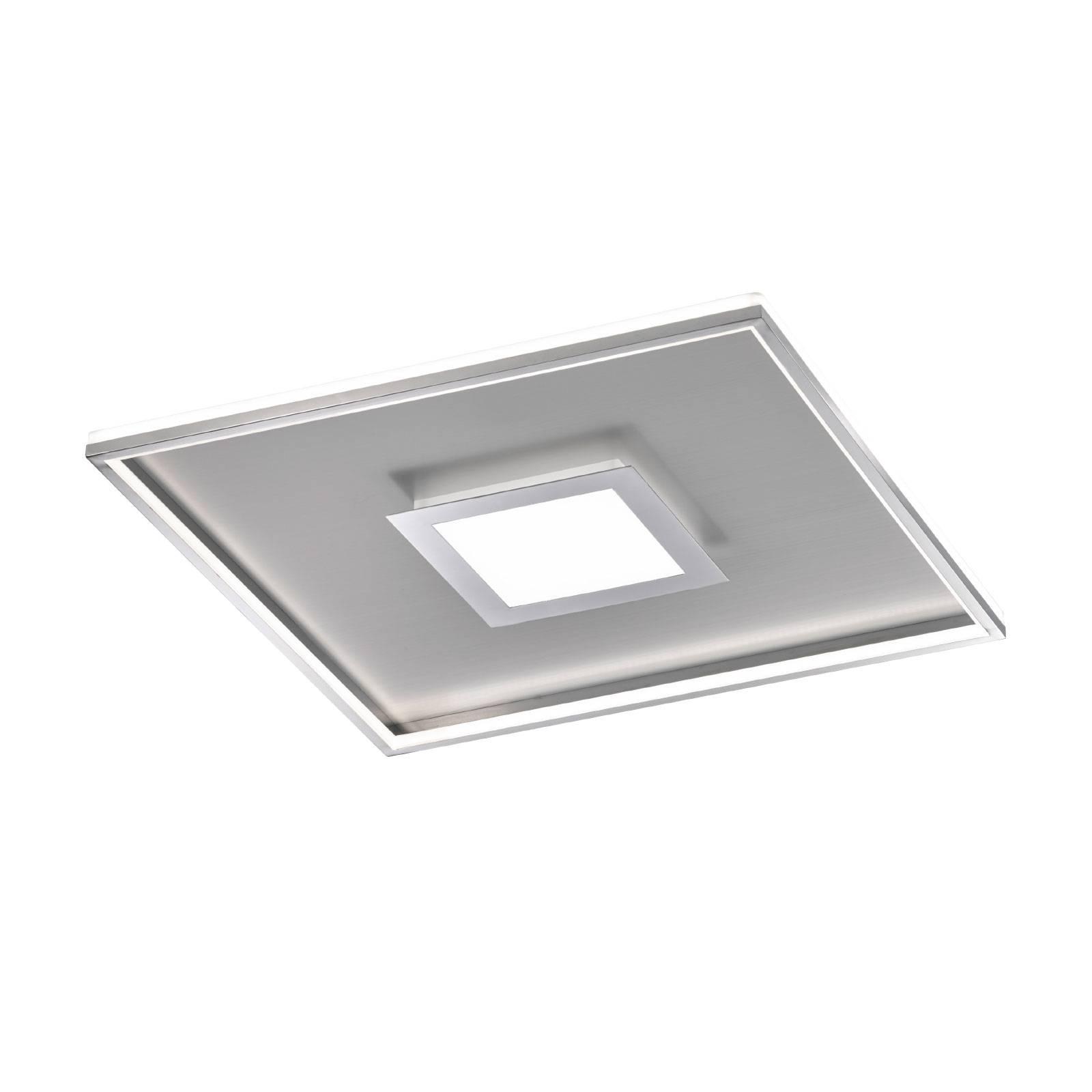 LED-kattovalaisin Zoe, neliönmuotoinen, 60 x 60 cm
