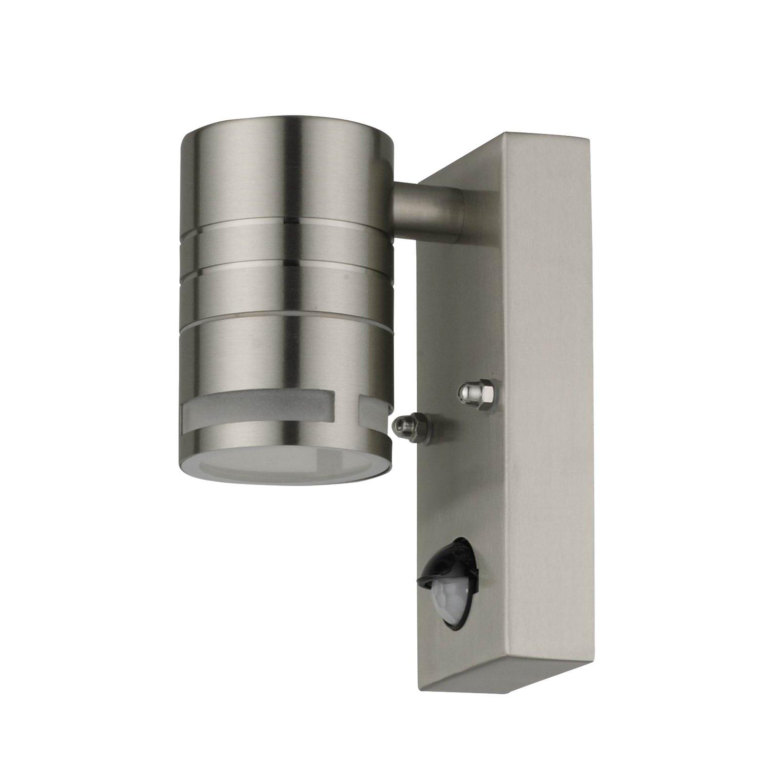 Lindby Catalin utendørs vegglampe, sensor