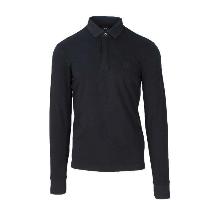 Armani Exchange Men's Polo Shirt Black 165212 - black S