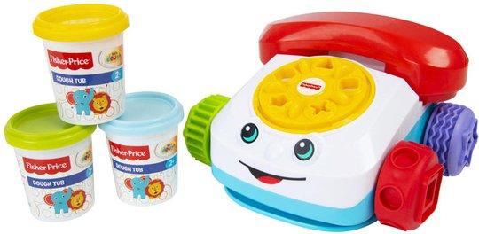 Fisher-Price Chatter Telephone Dough Sett Med Lekeleire