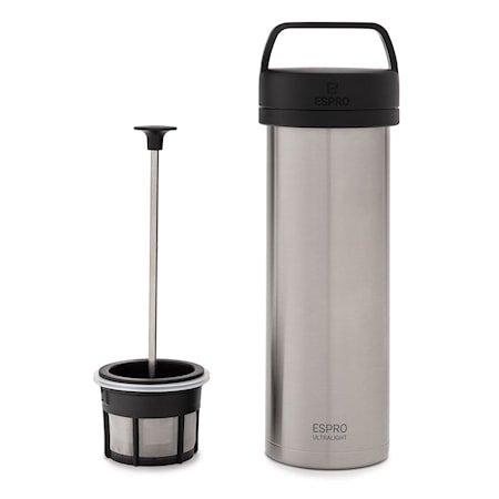 Espro Travel Presskanne Ultralight, stål, termo, kaffe
