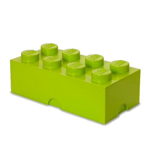Room Copenhagen - LEGO Storeage Brick 8 - Yellow/green (40041220)