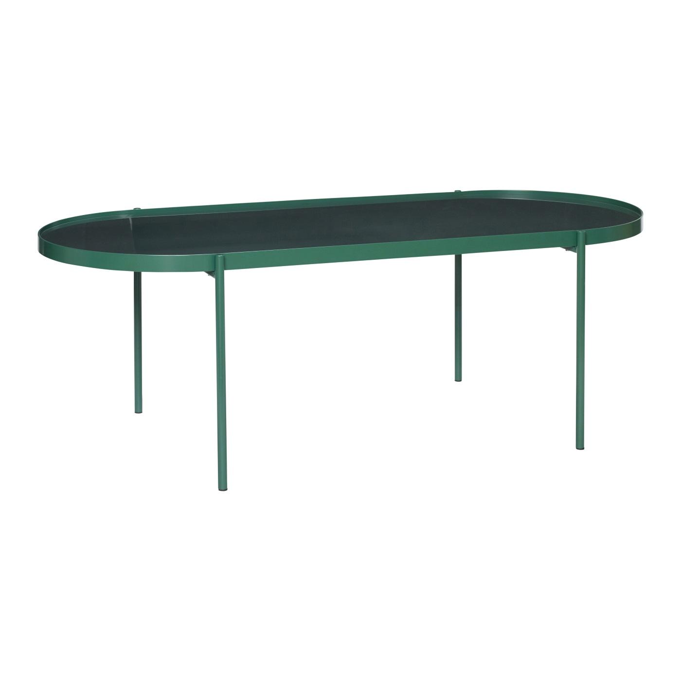 Soffbord avlångt grönt, Hubsch