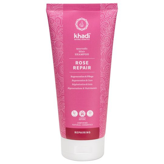 Khadi Rose Repair Ayurvedic Elixir Shampoo, 200 ml