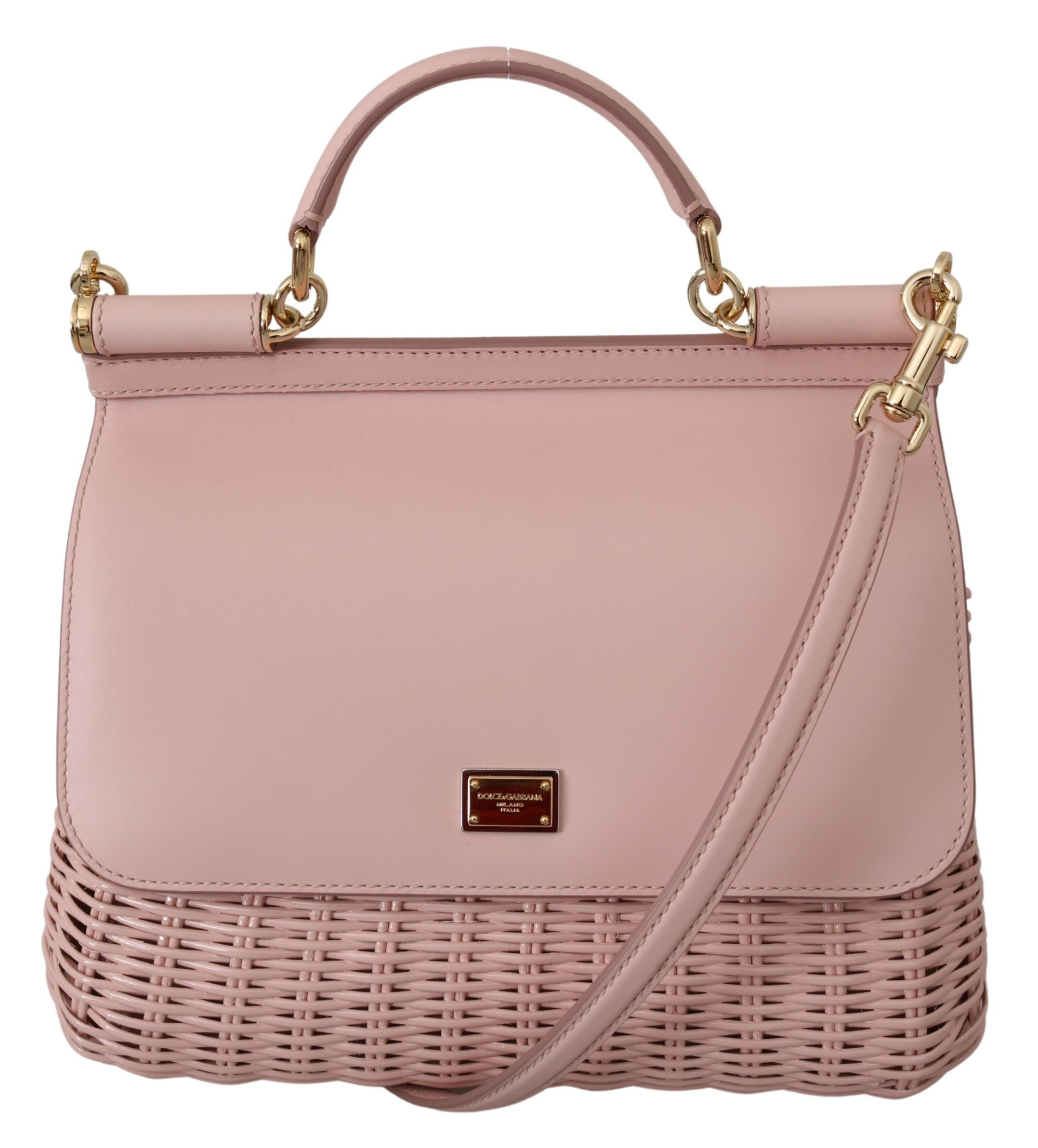 Dolce & Gabbana Women's SICILY Shoulder Bag Pink VAS10006