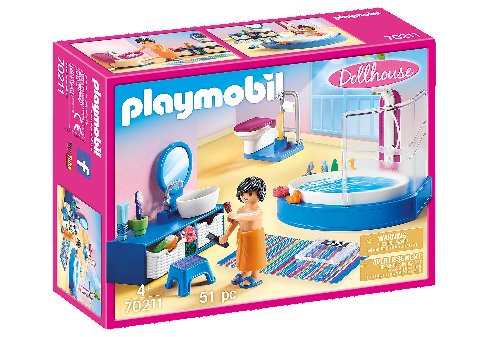 Playmobil - Bathroom with Tub (70211)