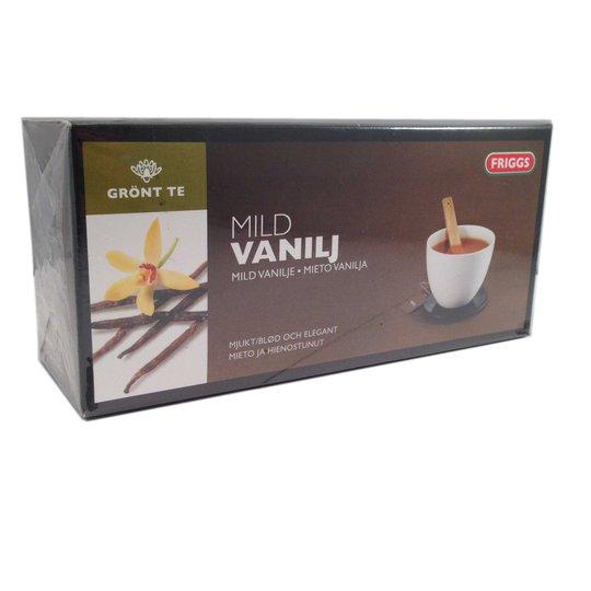 Grönt te mild vanilj - 50% rabatt
