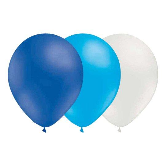 Ballongkombo Blå/Ljusblå/Vit - 15-pack