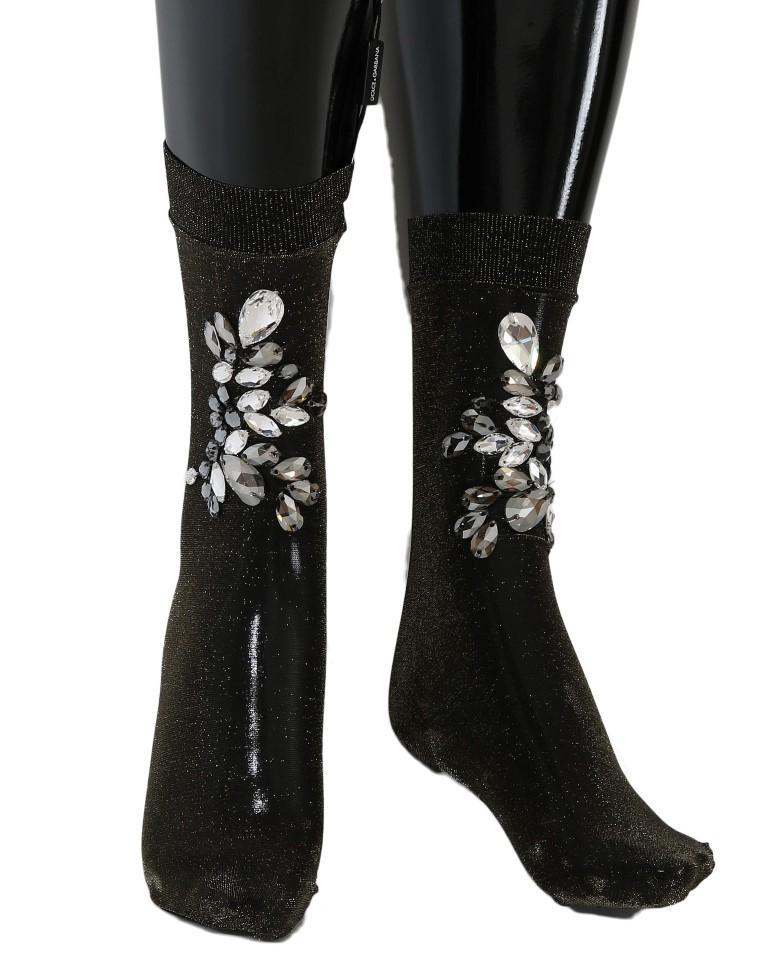 Dolce & Gabbana Women's Socks Black SCS57 - M