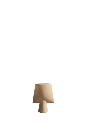 Sphere Vase Square Mini Sand