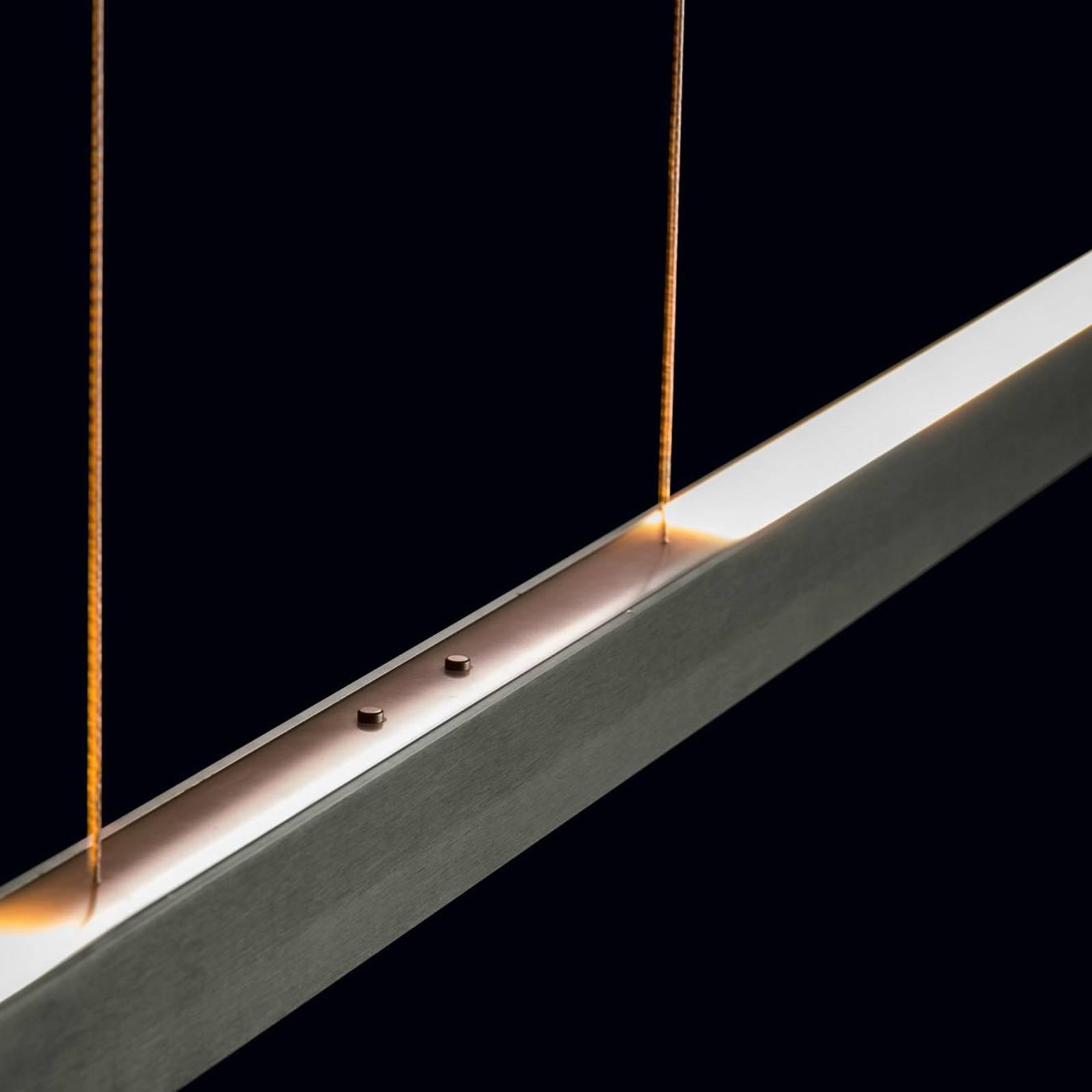 Holtkötter Xena S-LED-riippuvalaisin 120cm platina