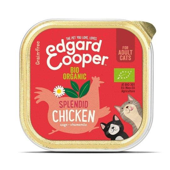 Edgard & Cooper Cat Organic Kyckling 85 g