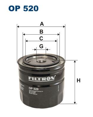 Öljynsuodatin FILTRON OP 520