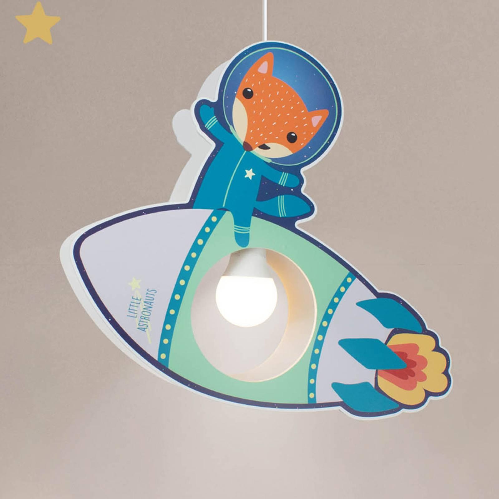 Riippuvalo Little Astronauts -raketti