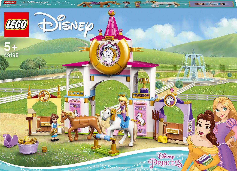 LEGO Disney Prinsessat 43195 Bellen ja Tähkäpään Kuninkaallinen Talli