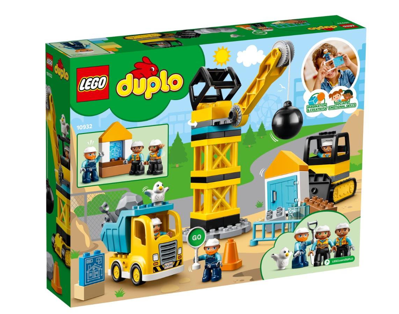 LEGO DUPLO - Wrecking Ball Demolition (10932)