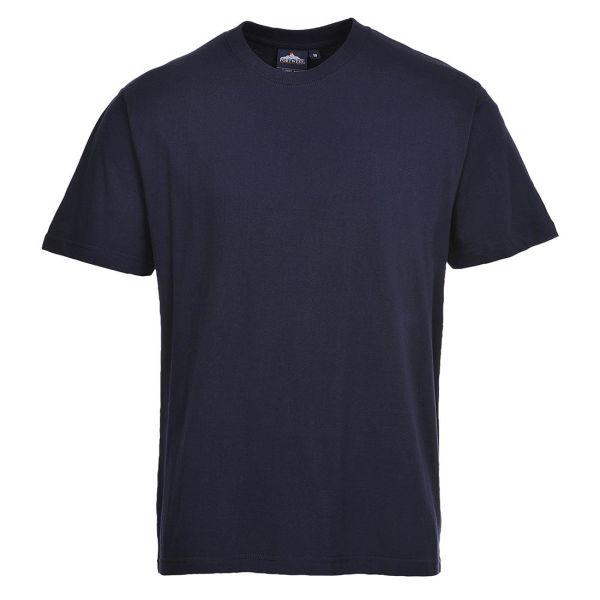 Portwest Turin Premium T-Shirt marinblå S