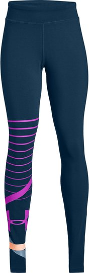 Under Armour Finale Knit Legging, Techno Teal XS