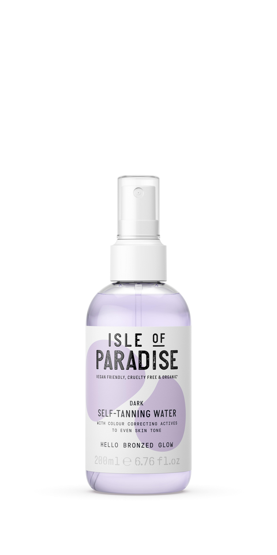 Isle of Paradise - Dark Self Tanning Water 200 ml