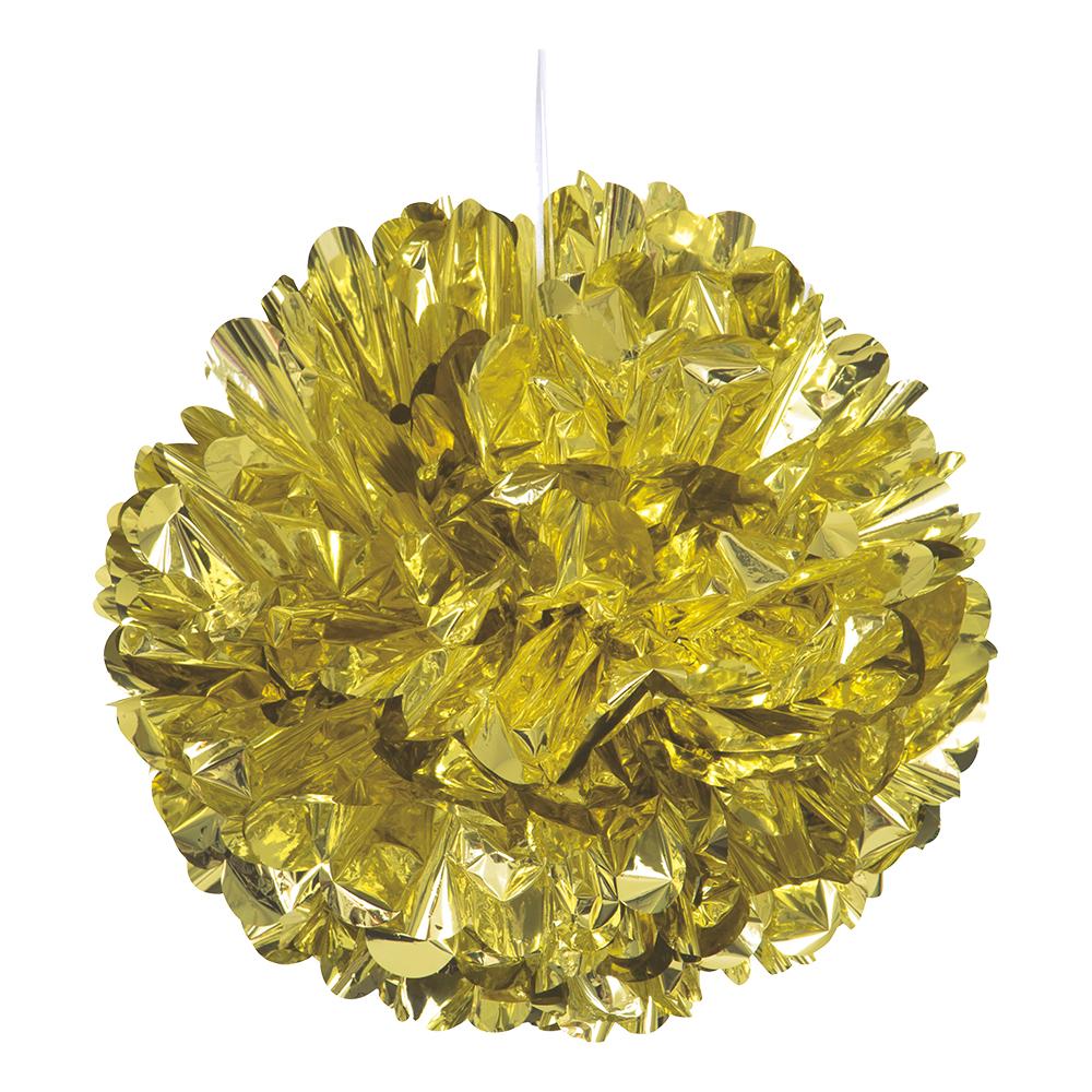 Pom Pom Guld Metallic Dekoration