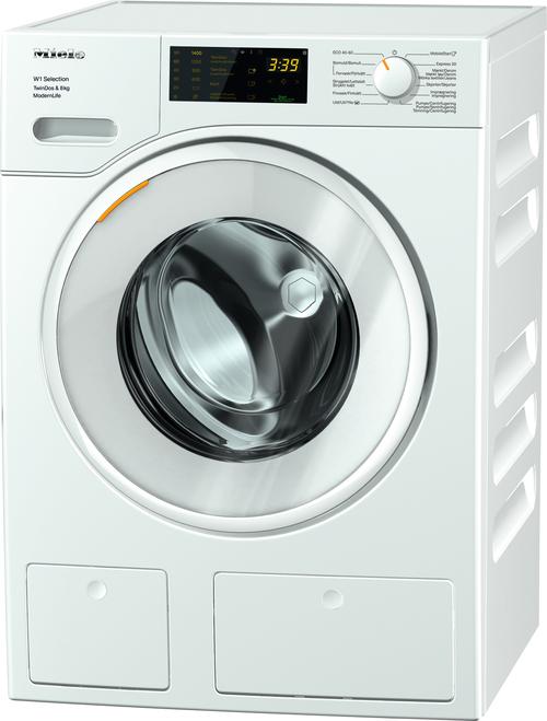 Miele Wsd663nds Tvättmaskin - Vit
